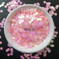 1kg 5mm Iridescent Pink Cherry Blossom Glitter | Pink Sakura Flower Confetti | Iridescent Pink Flower Solvent Resistant Glitter
