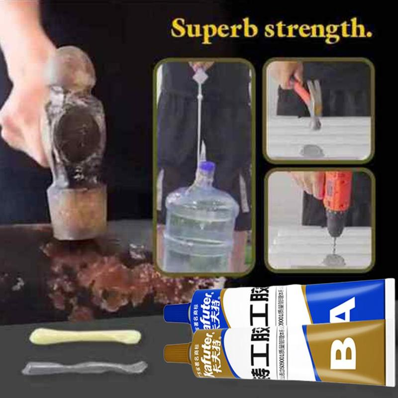 Crackle Repair Strong Kafuter Ab Caster Glue Casting Adhesive Metal Cast Iron Trachoma Stomatal Industrial Repair Agent 100g Hot