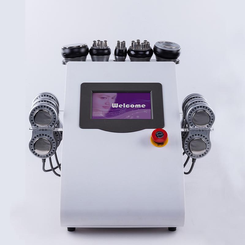 2020 Portable 6 In 1 Lipolaser Ultrasonic Cavitation Machine Laser Treatment of Weight Reduce Beauty Machine fast
