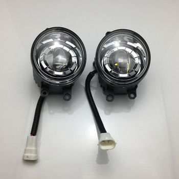 2pcs aluminium alloy Front Bumper LED Fog Light Replacement For 2007-2013  toyota Camry / Camry Hybrid