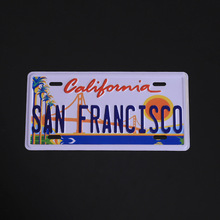 Individual color printing European and American foreign trade signs custom retro creative