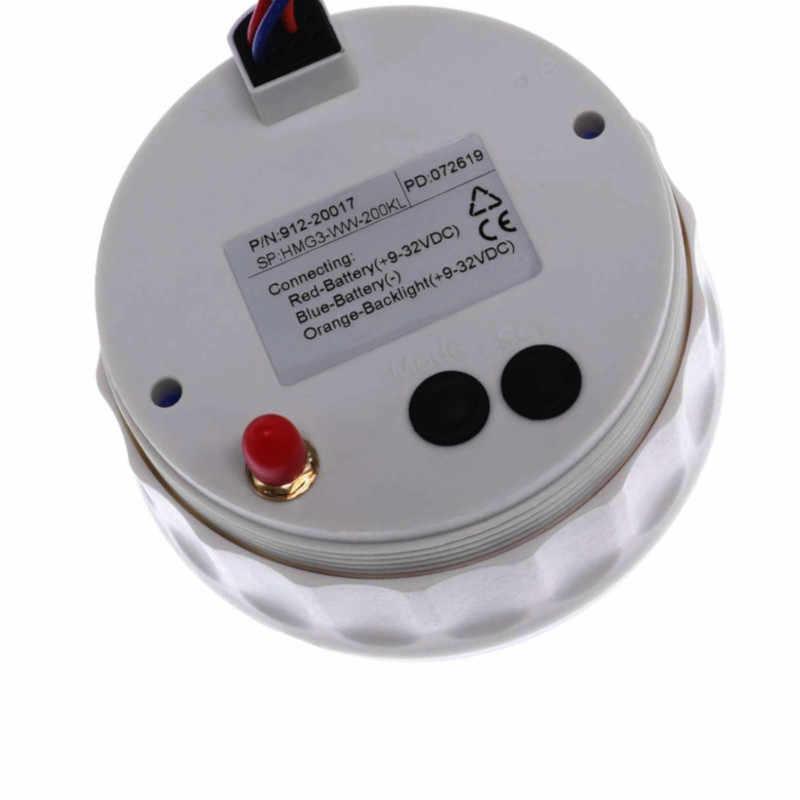 85 Mm Thuyền GPS Đồng Hồ Tốc Độ Xe Mềm Thuyền GPS Tốc Độ Odometers Màn Hình LCD Hiển Thị Đồng Hồ Đo 9 ~ 32V Với 7 Màu Đèn Nền Cho Xe BMW E60 E46