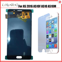 For Samsung Galaxy A5 2016 A510 A510F A510FD A5100 LCD Display With Touch Screen Digitizer Assembly Adjust Brightness LCD