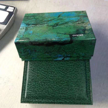 Watch Boxes Luxury Booklet-Card Green-Box Mens for Original Inner Womans