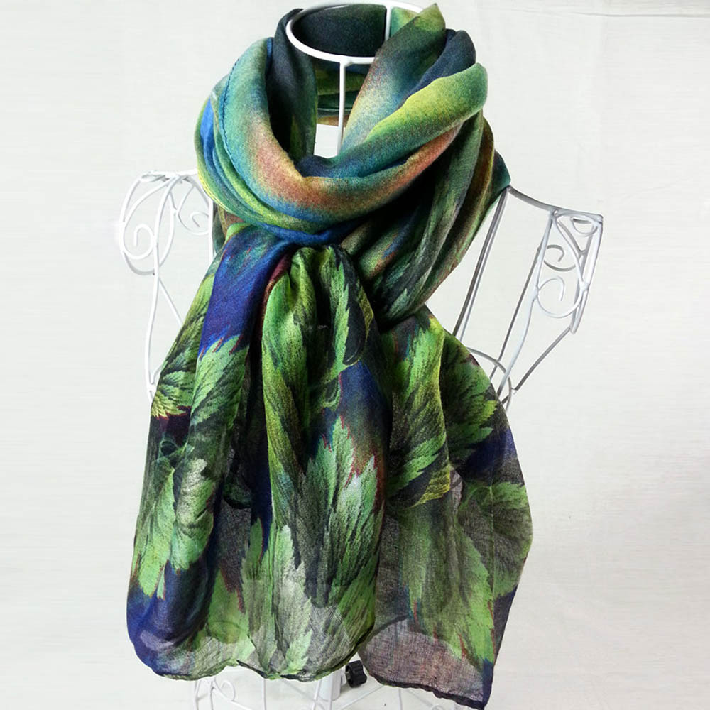 2019 New Autumn Winter Women Printing Long Soft Paris Yarn Scarf Wrap Shawl Stole Pashmina Scarves Elastic Breathable Shawls#927