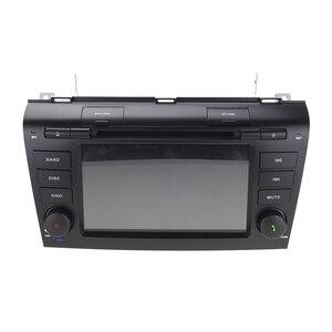 "Image 2 - 7 ""PX6 DSP Hexa Core אנדרואיד 10 AutoRadio DVD לרכב סטריאו נגן עבור MAZDA3 מאזדה 3 2004 2009 bluetooth GPS ניווט SD RDS BT"