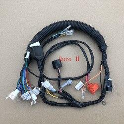Motocyklowe gniazdo przewód Assy obwodu kabel kompletny dla YAMAHA YBR125 YBR YB 125 elektryczny całego pojazdu kable w wiązce linii