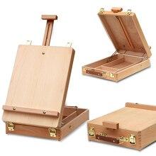 Hardware-Accessories Suitcase Art-Supply Easel Laptop-Box Fillet Painting Artist Desktop