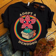 Adopt A Demodog Friends Dont Lie Stranger Things TV Series Dog Lovers Tee Shirt