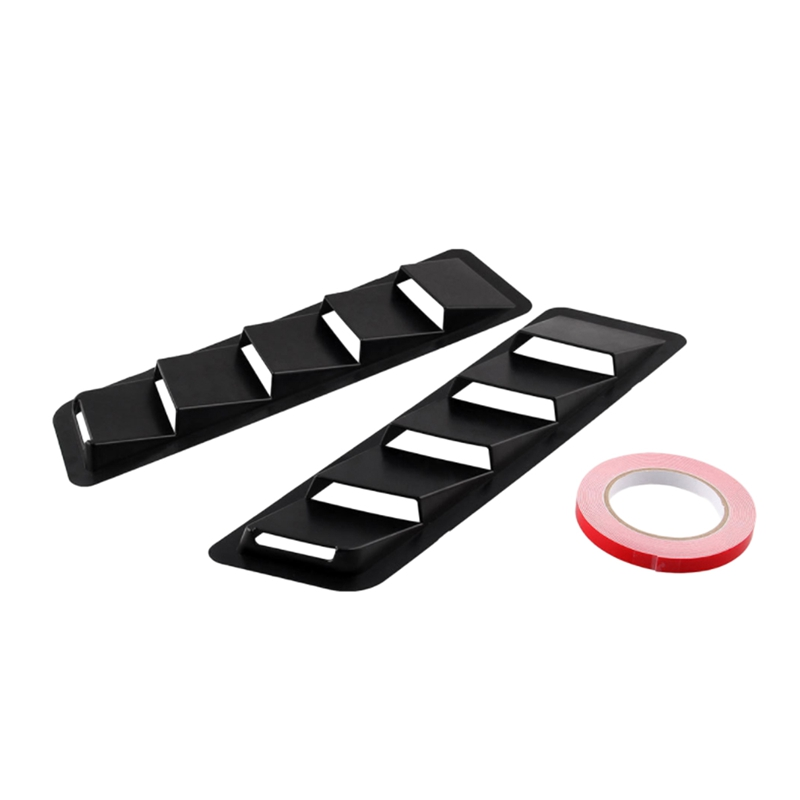SHGO HOT-2Pcs Car Styling Accessories Air Outlet Panel Ventilation Shutters For Ford Mustang