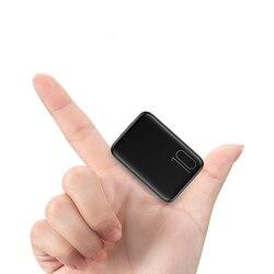 Banco do Poder 20000mAh Tpye-C Intput Exposição Do Lado de Carga Rápida Carregador Portátil Dual USB Saída 10000mAh Rápido mini Powerbank