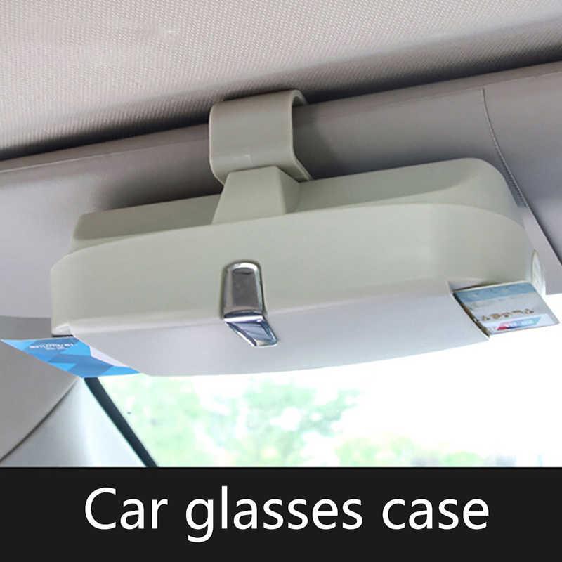 את מחזיק עבור ברכב אוניברסלי מחזיק משקפי אביזרי משקפיים מקרה מחזיק רב תכליתי משקפיים מקרה תיבה