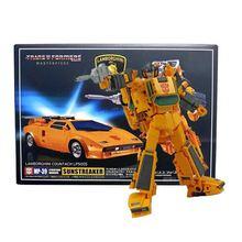Transformacja MP39 Sunstreaker arcydzieło seria KO ABS kolekcja figurka zabawkowe roboty MP 39 noworoczny prezent dla chłopców