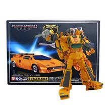 Transformation MP39 Sunstreaker Masterpiece Series KO ABS Collection Action Figure Robot Toys MP 39 New Year Gift for Boys