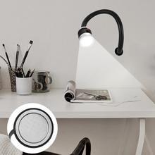 6W AC 110-220V LED Working Light Sewing Machine Lathes Lamp Magnetic Mount Base With US Plug Multifunction Flexible
