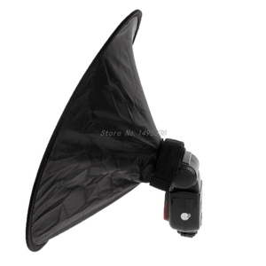 Image 2 - Universele 42Cm Ronde Studio Flash Softbox Speedlite Diffuser Reflector Strap Voor Canon Sony Yongnuo Rental & Dropship