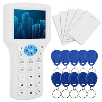 RFID ID Card Reader Access Control Copy Machine Multi Frequency Identification Reader Kit Card RFID Copier With USB Cable