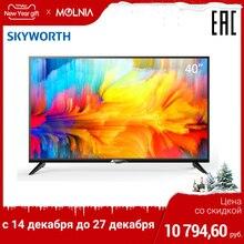 Телевизор 40 дюймов ТВ Skyworth 40W5 FullHD tv plus HDMI 1.4 с внутренними приложениями тюнер DVB-T2
