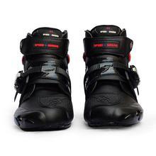 Мотоциклетные ботинки; байкерские водонепроницаемые ботинки для скоростного мотокросса; нескользящие защитные мотоциклетные ботинки для верховой езды