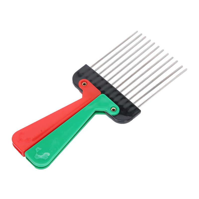 Hair Tool Hair Straight Cream Portable Hair Salon Pick Comb Hairdressing Detangle Hair Pick Styling Tool Accessory Hair