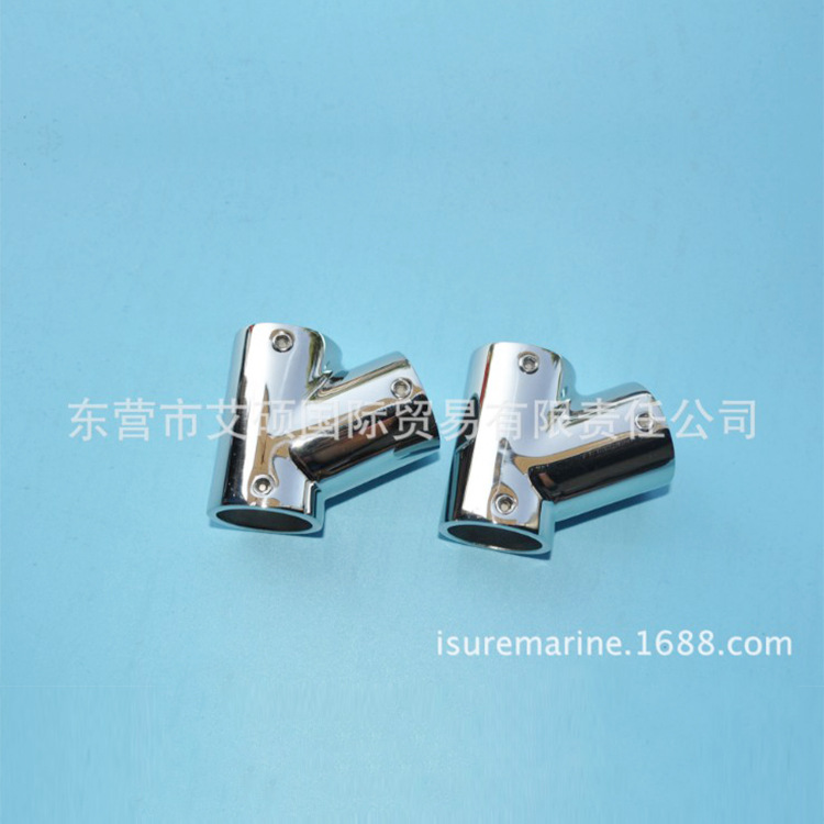 Manufacturers Wholesale Supply Stainless Steel Precision Casting T-connector Precision Casting Marine Hardware Yacht Accessories