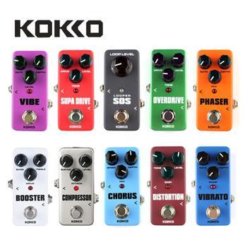 KOKKO-Pedal de efectos de Guitarra eléctrica, Mini Pedal de efectos de Guitarra,...