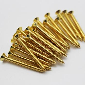 1000pcs M3 Brass Wood Screws Self Tapping