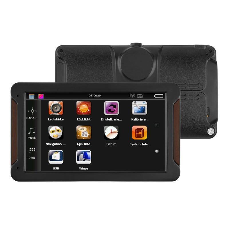 7 Inch Car Gps Navigator Fm 256Mb+8G Mp3/Mp4 Capacitive Screen Central Control Navigator