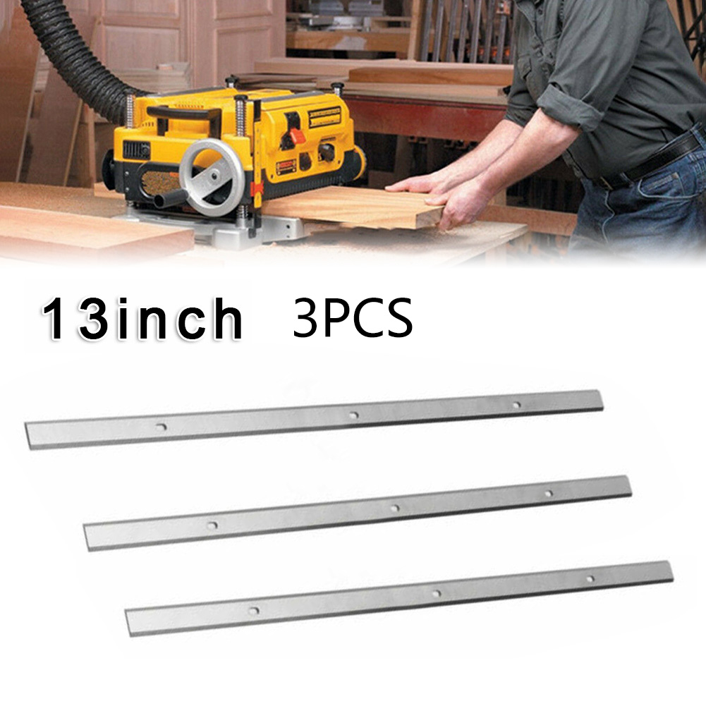 3 Pcs Planing Blades High Speed Steel For Metabo Planer Blades DH330 DH316 Double Edge Tool Woodworking Accessories