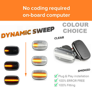 Image 4 - Led Dynamic Side Marker Turn Signal Lights For Toyota Corolla Celica Caldina Camry Hilux Probox Fielder Avensis Prius Runx Vios