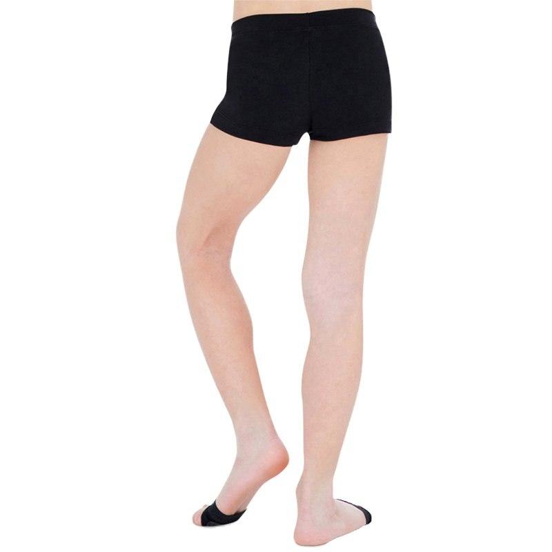 Гимнастикой для девочек костюм Шорты высококачественный яркий цвет корпуса балета, для занятий гимнастикой, практические занятия танцами одежда Шорты