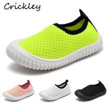 Kids Beach Shoes Mesh Breathable Indoor Floor for Boys Girls Sport Home Non Slip Solid on Children Slippers