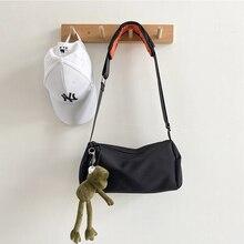 Hip Hop Sport Men Shoulder Bag Nylon Korean Casual Large Capacity Shoulder Bag Fashion School Bolso Hombre Mens Bag DE50NDJ