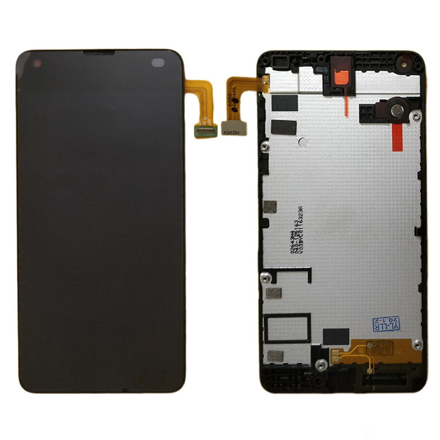 For Microsoft Nokia Lumia 550 LCD Display and Touch Screen Digitizer Assembly With frame Free Shipping