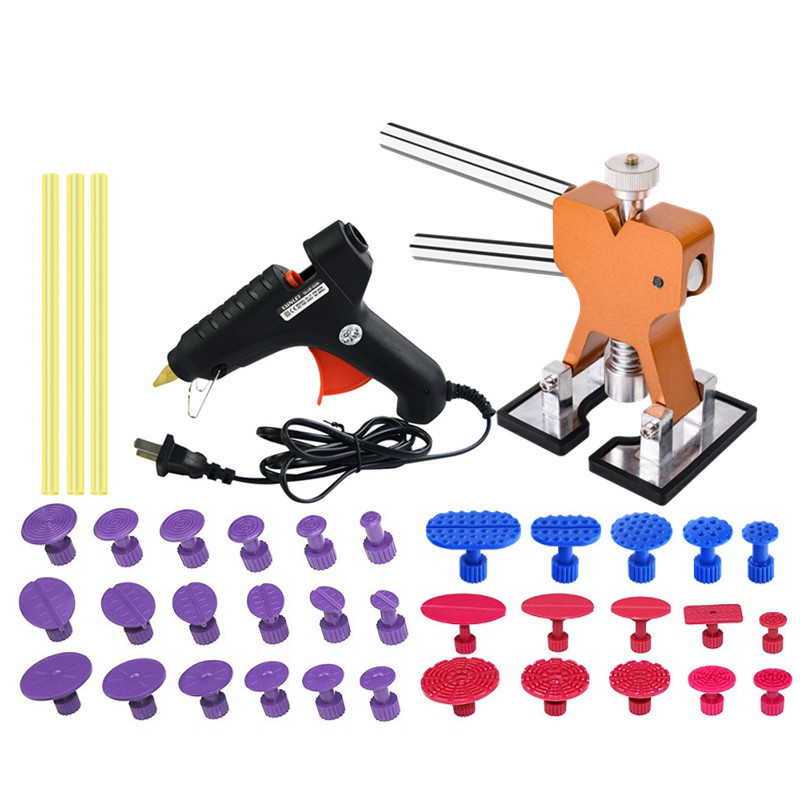 PDR Tools Auto Body Paintless Dent Repair Dent Lifter With Glue Gun Tool PDR For Car Motorcycle Refrigerator Washing Machine