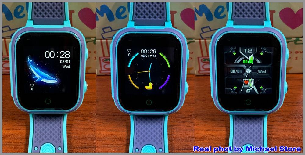 Hd50d62f55f0f4cc8a48b47452599952dO LT21 4G Smart Watch Kids GPS WIFI Video Call SOS IP67 Waterproof Child Smartwatch Camera Monitor Tracker Location Phone Watch