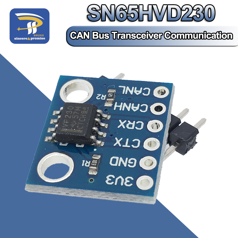 SN65HVD230 CAN Bus приемопередатчик связи термозащита наклона управления модуль для платы управления Arduino