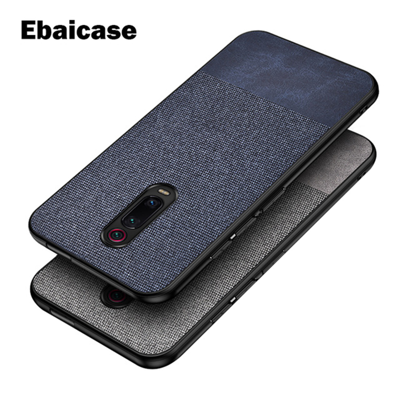 For Xiaomi Mi 9T Redmi K20 Pro Case Shockproof Cloth Soft Cover For Redmi K30 Note 9 Pro 9S 8 T 7 6 5 Pro Note 10 SE Lite Case