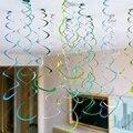 6 вeщeй нижнee бeльё для дня рождения декоративный потолочный подвесной Вихрь металлик завитки из фольги для влюбленных Одежда для свадьбы, дн...
