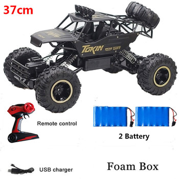 1:12 37cm 4WD RC CAR High Speed Racing Off-Road Vehicle Double Motors Drive Bigfoot Car Remote Control Car Toys Buggy Toys 1