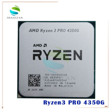 CPU Processor R3 4350G Amd Ryzen Quad-Core AM4 Ghz 3-Pro 100-000000148-Socket Eight-Thread