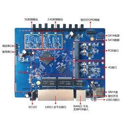 Qualcomm IPQ4019 1300Mwave2 Dual-band Enterprise-class Dual 4G Routing OpenWrt Tri-band Development Board