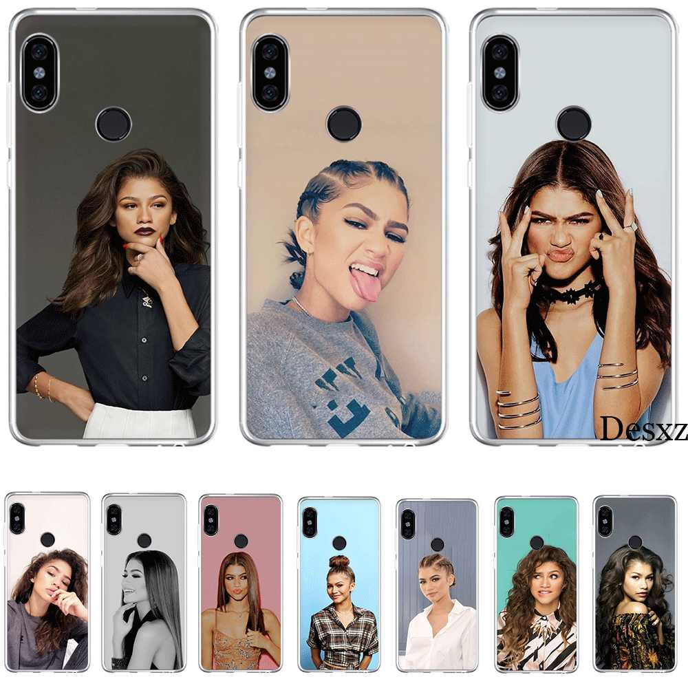 Mobile Phone Case Tpu for Xiaomi Redmi Note 8 7 5 6 Pro 4 Note 4X 5A Cover Zendaya Coleman Shell