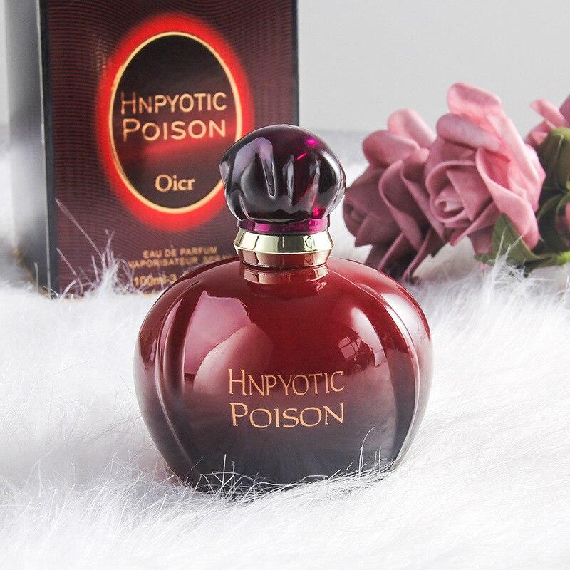 Two Types of Women's Perfumed 100ml Long-lasting Fresh Eau De Toilette Atomizer Fashion Vase Fragrance Antiperspirant Deodorant