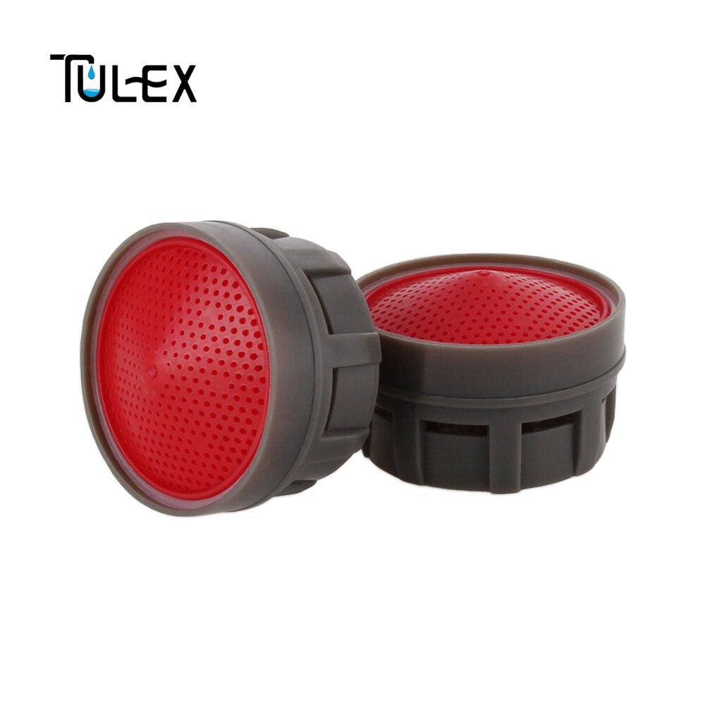 TULEX Water Saving Faucet Aerator 6L/MIN Eco-Friendly 20MM Thread Spout Bubbler Filter Accessories Core Replacement Part