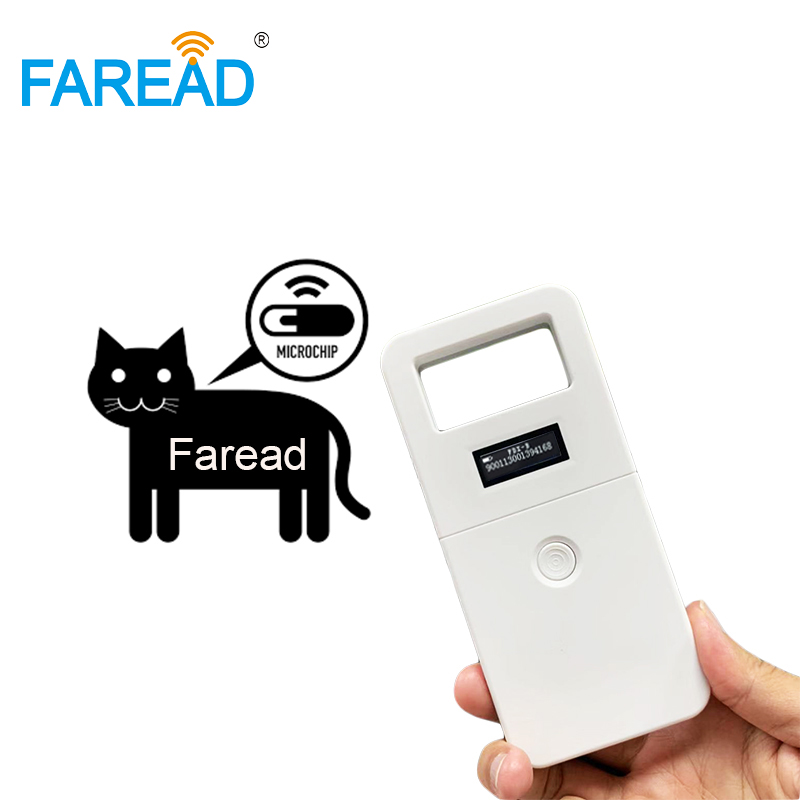 ISO11784/785 FDX-B Microchip Animal ID Reader Rechargable Mini Pet Chip Scanner For Dog,cat,horse