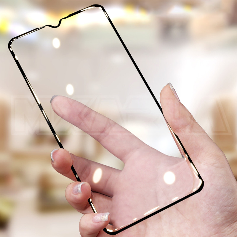 Image 4 - 9D Full Cover Tempered Glass on the For Xiaomi Redmi Note 8 7 6 Pro Redmi 8 8A 7 7A 6 Pro 6A Go K20 Screen Protector Glass FilmPhone Screen Protectors   -
