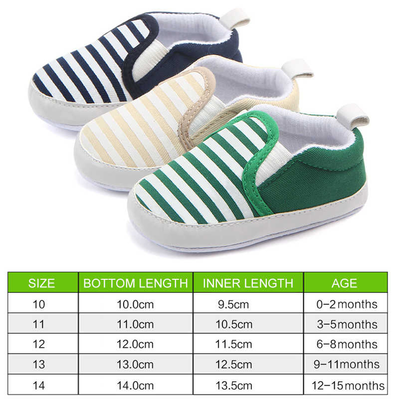 Casual baby shoes navy striped cotton sneakers children's shoes toddler shoes baby girl shoes baby Infant first walkers Shoes