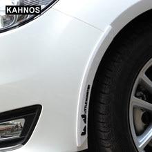 Protecteur de pare-chocs de voiture Anti-Collision, garde-bord évasé, Protection du pare-chocs en caoutchouc, moulures de style, bande décorative