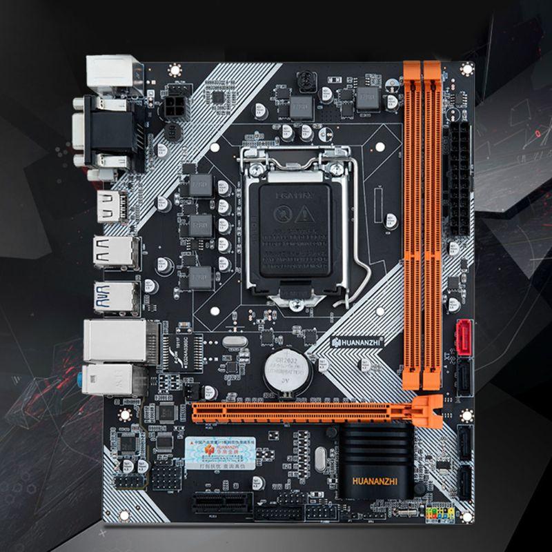 Huananzhi B75 Desktop Motherboard LGA1155 for i3 i5 i7 CPU Support ddr3 Memory M5TB